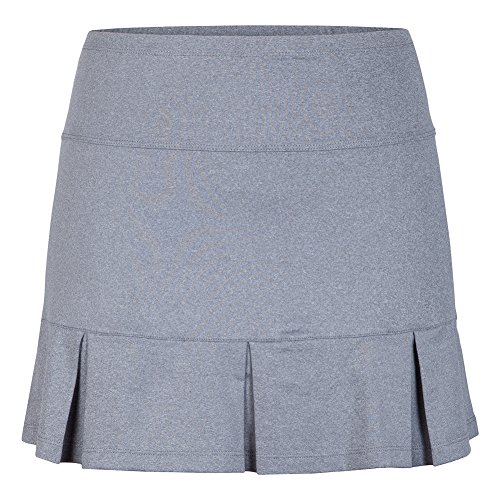 Tail Activewear Women's Doral 14.5 Length Skort Small Frosted Heather (Center Frosted)