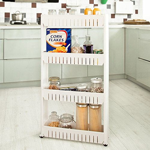 Haotian Kitchen Cabinet Kitchen Storage Cupboard With Casters Slide