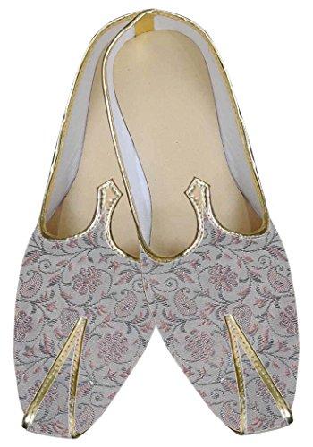 INMONARCH Herren Natürliche Hochzeit Exklusive Schuhe MJ0069