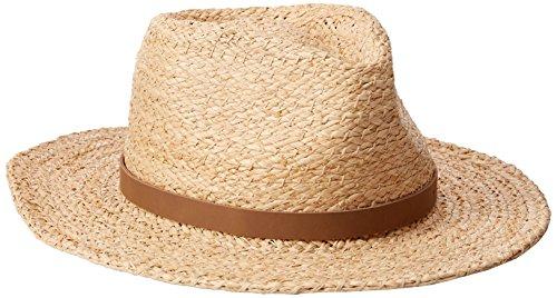 - Tommy Bahama Men's Braid Raffia Safari Hat, Natural, Small/Medium