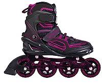 SPOKEY® TARON Inline Skates (Kinder Damen Herren Inline Blades ABEC 7 Karbon...
