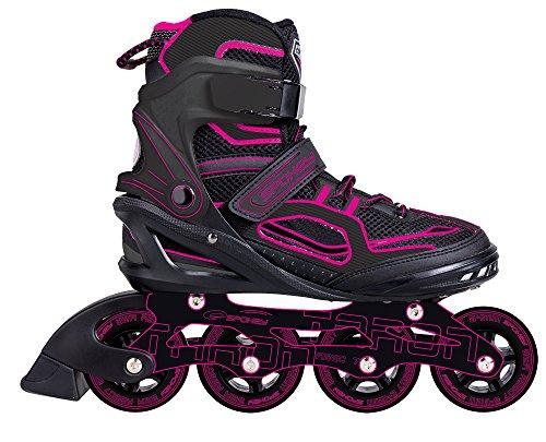SPOKEY® TARON Inline Skates (Kinder Damen Herren Inline Blades ABEC 7 Karbon Aluminium Größen 37-46), Farben:Pink;Größe/Size:39