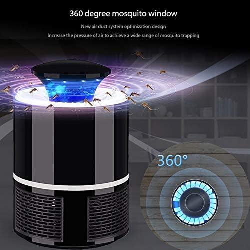 USB Lámpara de Mata Mosquitos Moscas Electrico Fotocatalizador, 360° LED Insectos Trampa Lámparade,Sin Productos Químicos y Radiación, Mute portátil a prueba de agua: Amazon.es: Bebé