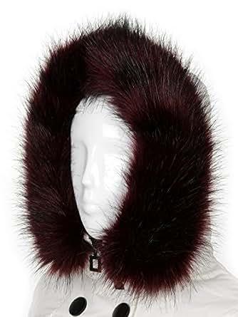 Futrzane Trim Hood Faux Fake Fur Hood Winter for Jacket