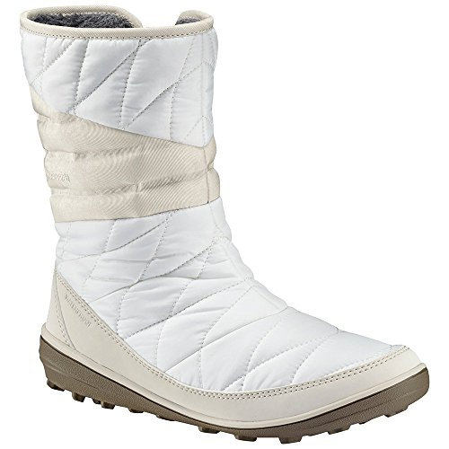 Heat Lining Sealed (Columbia Women's Heavenly Slip II Omni-Heat Ankle Boot, Sea Salt, Fawn, 9 Regular US)