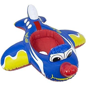 amazoncom inflatable sea plane ride  pool toy garden