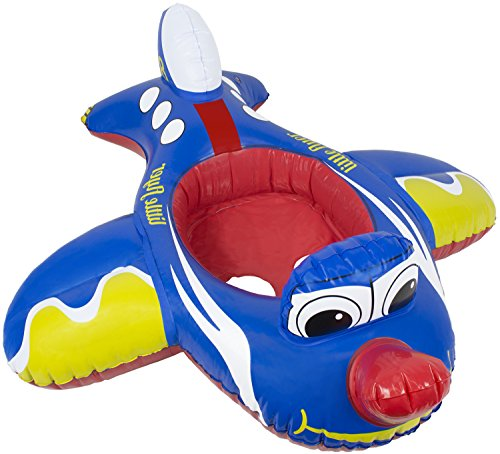 Poolmaster 05401 Learn-To-Swim Transportation Baby Float Rider - Airplane Airplane Floats