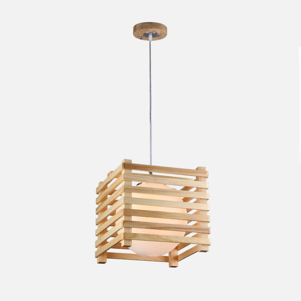 竹製シャンデリア シャンデリア木製シンプルなホームレストランバーバーカウンターカフェ装飾シャンデリア 単純な B07RXNBG39