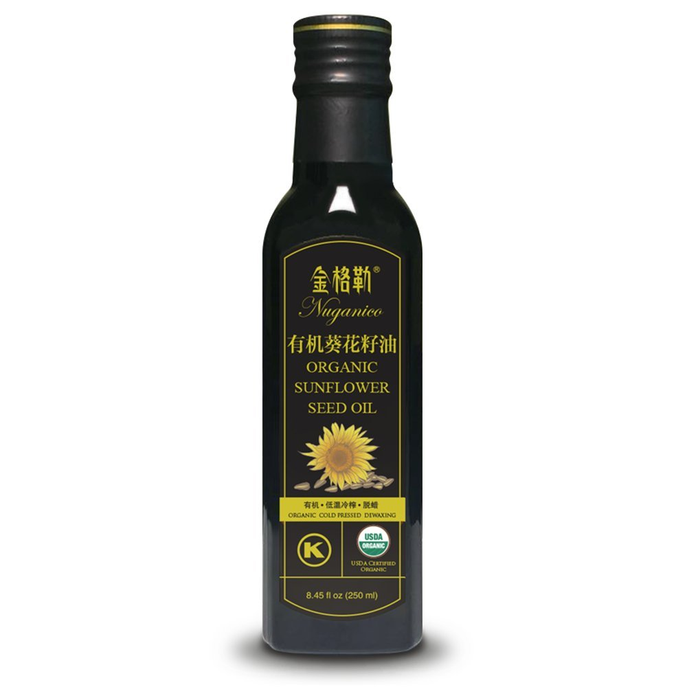 Tohkin Food USA Nuganico Organic Sunflower Seed Oil 250 ml x 18PET bottles