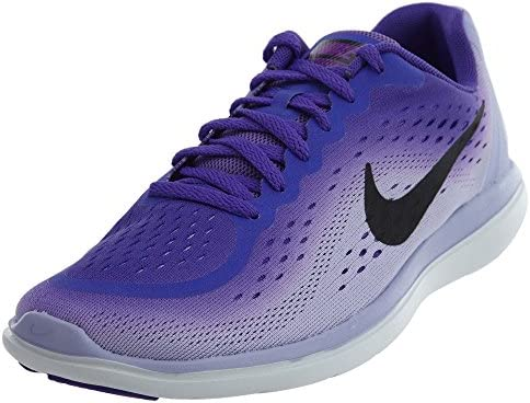 8a3982bd72 Nike Girl's Flex RN 2017 (GS) Kids Shoe Hyper Grape/Black/Purple Agate Size  7 M US: Buy Online at Low Prices in India - Amazon.in