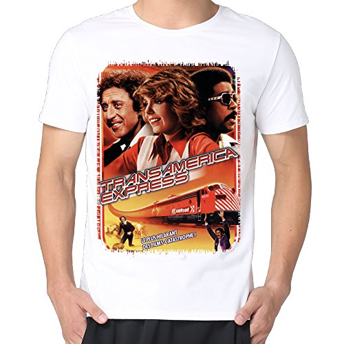 Gene Wilder Silver Streak Men Cotton Short Sleeve Cool Dry Tshirts