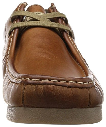 Base London Storm Tan Herren Leder Casual Lace Up Schuhe