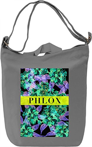 Phlox Borsa Giornaliera Canvas Canvas Day Bag| 100% Premium Cotton Canvas| DTG Printing|