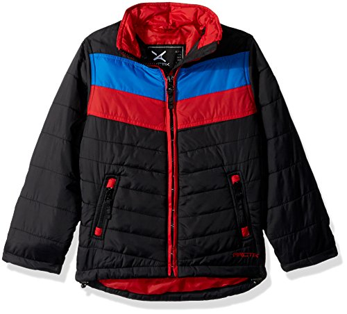 Puffer Medium Arctix Black Insulated Jacket Steep Boys wqHtv