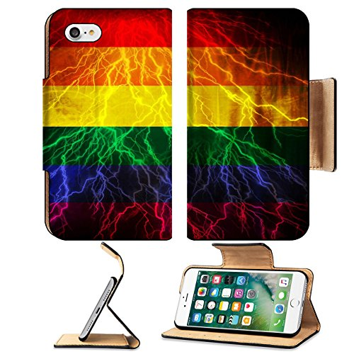 msd-premium-apple-iphone-7-iphone7-flip-pu-leather-wallet-case-gay-pride-flag-waving-in-the-wind-wit