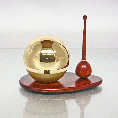 たまゆらりん 【ゴールド】 1.8寸 りん棒 りん台付 3点セット B01C401MS2