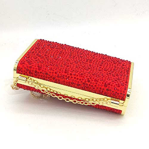 2 BESTWALED Red Femme Rouge Red Pochette YHB474 pour HCxBS7q