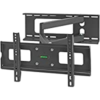 Cmple - Heavy-Duty Full Motion Wall Mount for 32-55 LCD/LED TVs