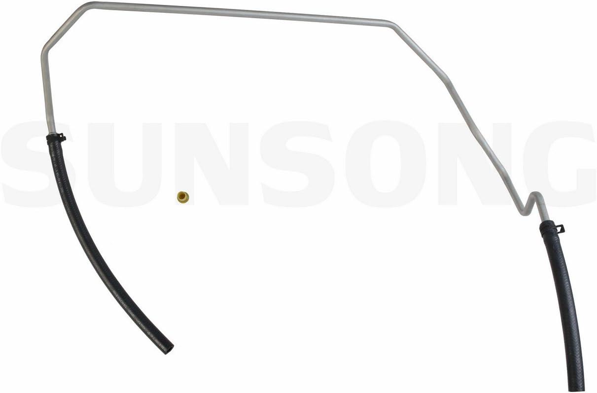 Sunsong 3402394 Power Steering Return Line Hose Assembly