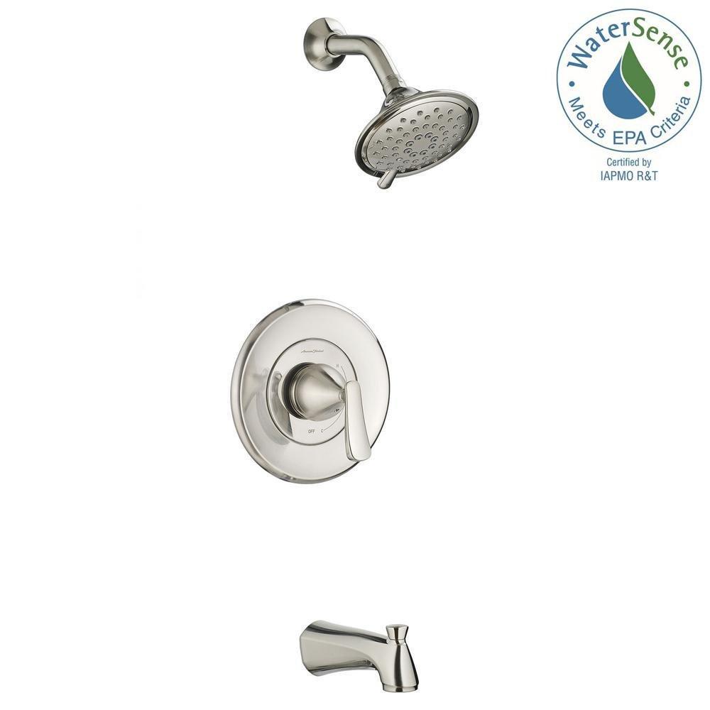 Amazon.com: American Standard 7413502.295 Chatfield Tub and Shower ...