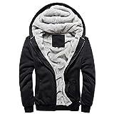 PANEGY Men's Outdoor Fleece Outwear Hoodie Jacket Coat