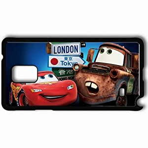 Personalized Samsung Note 4 Cell phone Case/Cover Skin 2 london tokyo movies pixar's movies Black