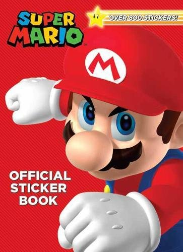 Price comparison product image Super Mario Official Sticker Book (Nintendo)