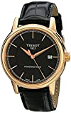Tissot Men's T0854073606100 Carson Analog Display Swiss Automatic Brown Watch