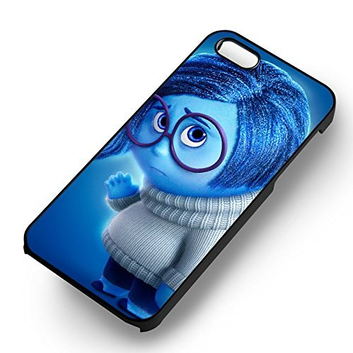 Sadness Inside Out for Cover Iphone 6 and Cover Iphone 6s Case (Black Hardplastic Case) D1F1FJ