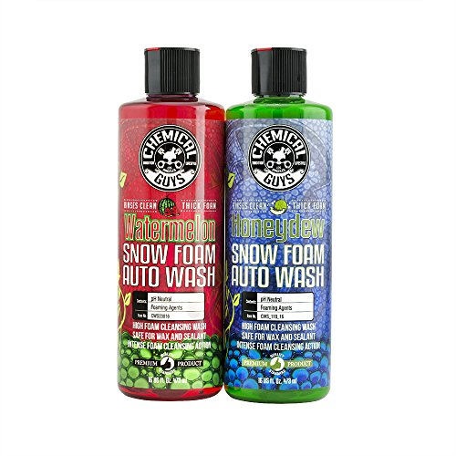 Chemical Guys HOL316 Ultimate Snow Foam Car Wash Combo Kit, 16 fl. oz. (The Best Snow Foam)