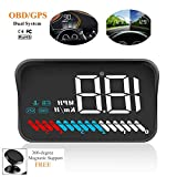 Best Heads Up Displays - Car Universal Dual System HUD Head Up Display Review