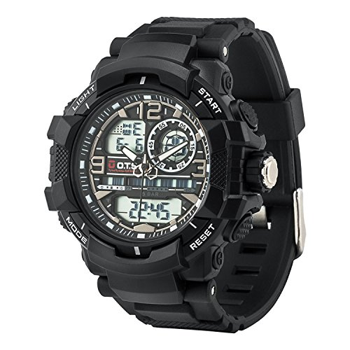 Military Waterproof Electronic Backlight Stopwatch