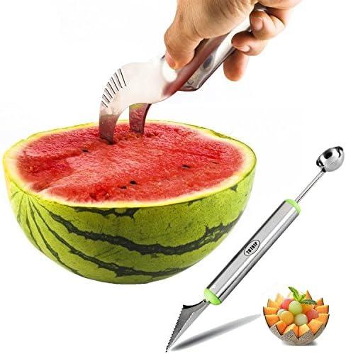 Past/èque Trancheuse en Acier Inoxydable Fruits /éplucheur Melon Coupe Cuisine Gadget