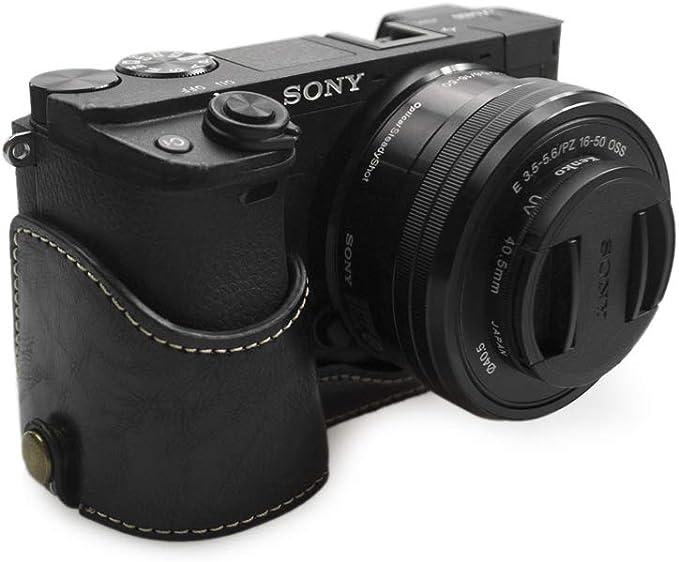 Kinokoo Kameratasche Für Sony A6400 Schutzhalbtasche Schutzhülle Schwarz Elektronik