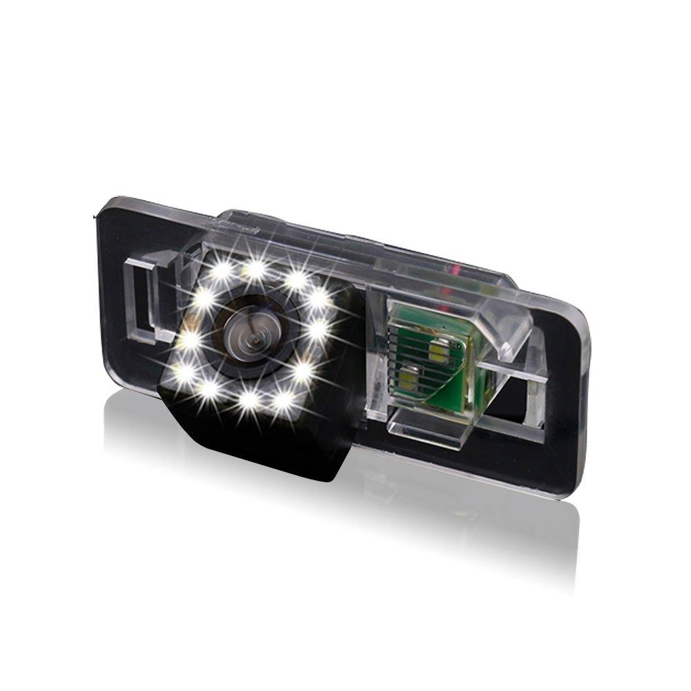 Dynavsal HD CCD Camé ra de Recul Voiture en Couleur Kit Camé ra vue arriè re de voiture Impermé able IP67 avec large Vision Nocturne pour X1 X3 X5 X6 M3 M1 E39 E46 E91 E88 E53 Autokamera car camera DN8020DJT/FBA-GE