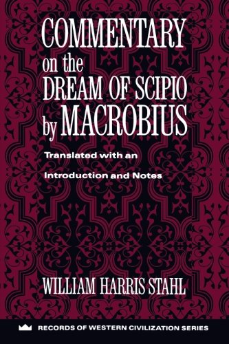 Commentary On The Dream Of Scipio By Macrobius  Records Of Western Civilization