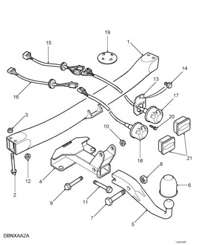 Land Rover Trailer Hitch 2