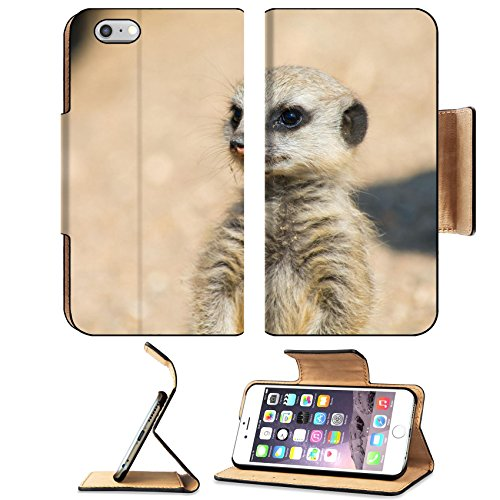 Liili Apple iPhone 6 Plus iPhone 6S Plus Pu Leather Flip Case A Meerkat watching out for the group iPhone6 Plus Image ID - Coupons Out Discount Of Africa