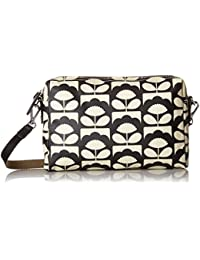 Charcoal Spring Bloom Small Cross Body
