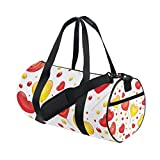 U LIFE Valentines Day Candy Heart Love You Summer Spring Wedding Sports Gym Shoulder Handy Duffel Bags for Women Men Kids Boys Girls