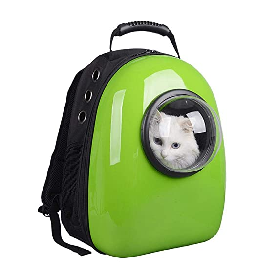Amazon.com: Maerye Pet Bag Space Capsule Pet Backpack Shoulder Bag cat Bag Dog Bag pet Transport Bag fit 4-5 kg or so Dog: Garden & Outdoor