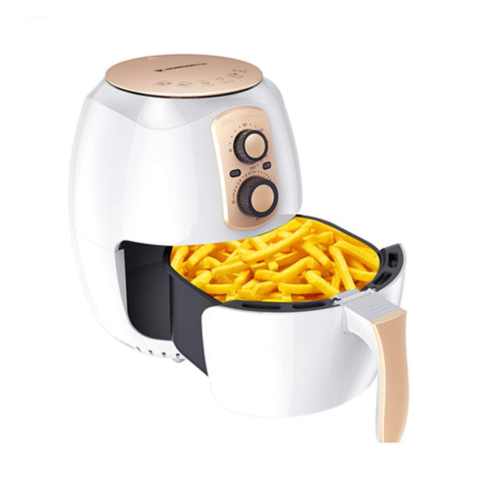 NAB325 Home Multi-Function Air Fryer, 3.8 Temperature Control Oven Automatic Low Fat French Fries Machine, Very Suitable for Family, Travel by NAB325
