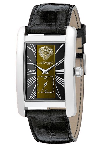 Ed Hardy Men's CL-TG 1st Class Tiger Stainless Steel 316L Watch