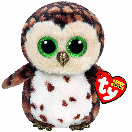 Ty Sammy Owl Plush, Brown, Regular