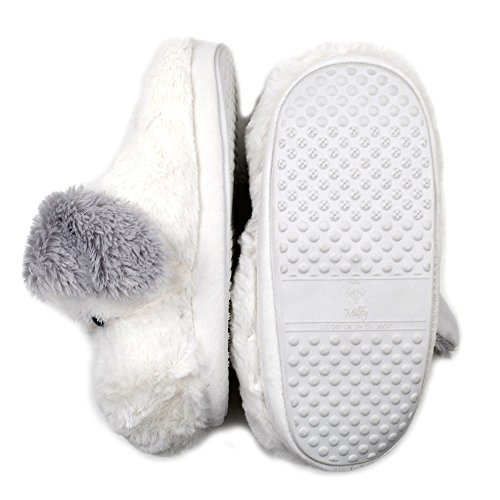 Millffy Chaussons Millffy pour Femme Chaussons Femme pour Blanc Blanc wzUaqZ