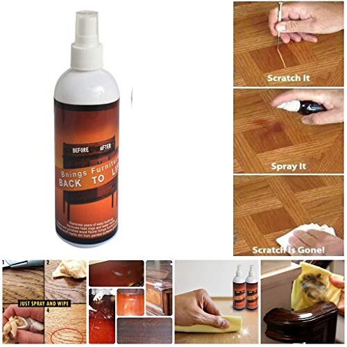 Clearance Sale!UMFun Newest Instant Fix Wood Scratch Remover Repair Paint For Wooden Table Bed Floor