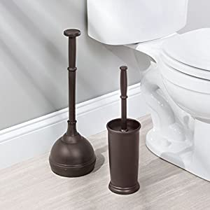 InterDesign Kent Toilet Brush Set - 2