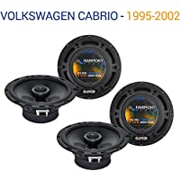 Volkswagen Cabrio 1995-2002 Factory Speaker Upgrade Harmony (2) R65 Package New
