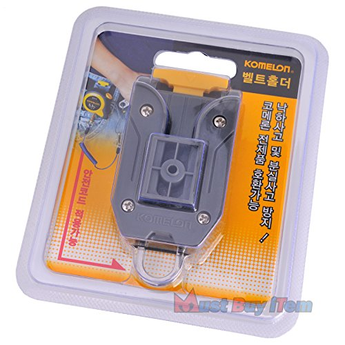 - Komelon Quick-Draw Belt Clip Holder Tools for Measuring Tape