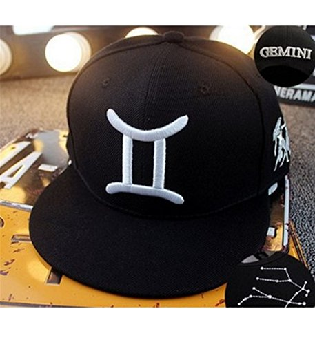 micrkrowen-personalized-embroidery-white-line-twelve-constellations-hat-cap-white-lines-gemini